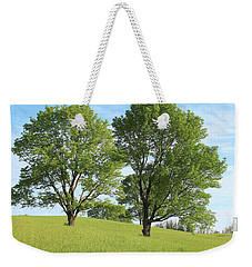 Weekender Tote Bag featuring the photograph Summer Trees 4 by Melinda Blackman