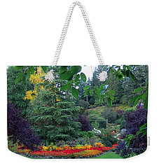 Trees And Flowers Weekender Tote Bag by Betty Buller Whitehead