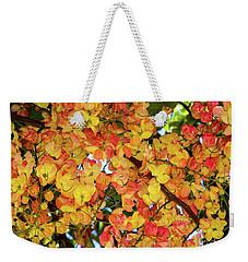 Trees And Flowers In Hawaii Weekender Tote Bag