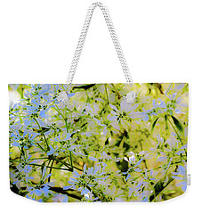 Weekender Tote Bag featuring the photograph Trees And Leaves by D Davila