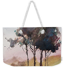 Trees Weekender Tote Bag by Geni Gorani