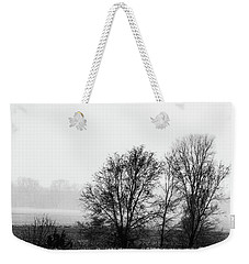 Trees In The Mist Weekender Tote Bag by Jay Stockhaus