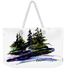 Trees Weekender Tote Bag by Marti Green