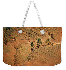 Trees On A Ledge Weekender Tote Bag