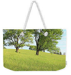 Weekender Tote Bag featuring the photograph Summer Trees 2 by Melinda Blackman