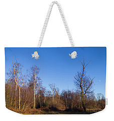 Trees With The Moon Weekender Tote Bag