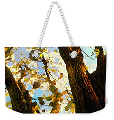 Treetop Abstract-look Up A Tree Weekender Tote Bag