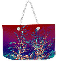 Treetops 4 Weekender Tote Bag by Will Borden
