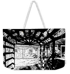 Trellis Pov Weekender Tote Bag by Betsy Zimmerli