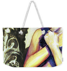 Trembling Flower Weekender Tote Bag