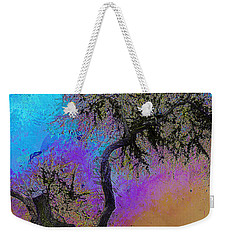 Weekender Tote Bag featuring the photograph Trembling Tree by Lori Seaman