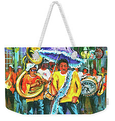 Treme Brass Band Weekender Tote Bag