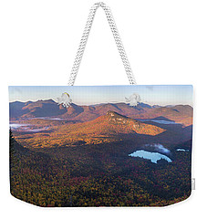Tremont Autumn Morning Panorama Weekender Tote Bag