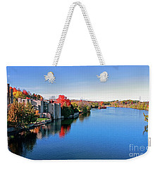 Trent University Peterborough Campus Weekender Tote Bag by Charline Xia