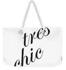 Tres Chic Weekender Tote Bag