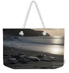 Weekender Tote Bag featuring the photograph Photographs Of Cornwall Trevellas Cove Cornwall by Brian Roscorla