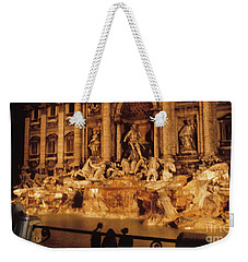 Trevi At Night Weekender Tote Bag