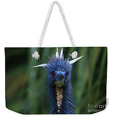 Tri-colored Heron Plumes Weekender Tote Bag