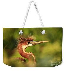 Tri-colored Heron Youth Weekender Tote Bag