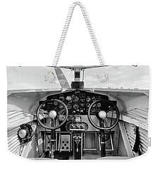 Tri-motor Cockpit - 2017 Christopher Buff, Www.aviationbuff.com Weekender Tote Bag