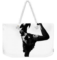 Triangle Girl Weekender Tote Bag by Bob Pardue