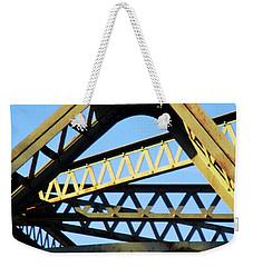 Triangled Weekender Tote Bag