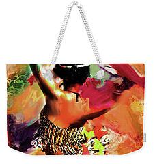 Tribal Dance 0321 Weekender Tote Bag