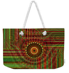 Tribal Drape Weekender Tote Bag by Thibault Toussaint