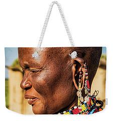 Tribal Traditions Weekender Tote Bag