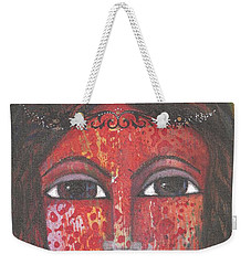 Tribal Woman Weekender Tote Bag