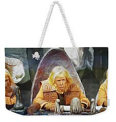 Tribunal Trump Weekender Tote Bag