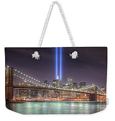 Tribute In Light IIi Weekender Tote Bag by Clarence Holmes