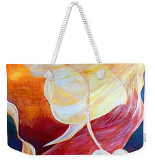 Tribute To An Angel Weekender Tote Bag by Claire Bull