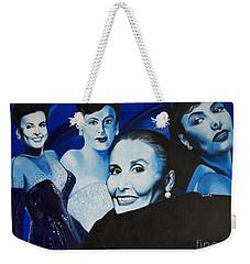 Tribute To Lena Horne Weekender Tote Bag