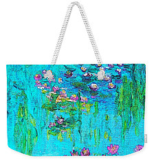 Tribute To Monet Weekender Tote Bag by Holly Martinson