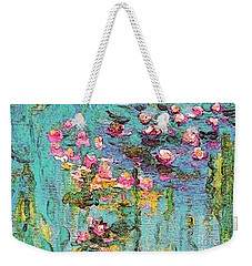 Tribute To Monet II Weekender Tote Bag by Holly Martinson