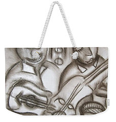 Tribute To The String Bass Weekender Tote Bag