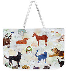 Tribute To Tracy Weekender Tote Bag