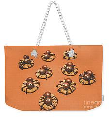 Trick Or Treat Halloween Spider Biscuits Weekender Tote Bag