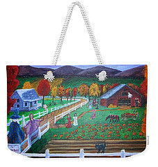 Trick Or Treat Weekender Tote Bag by Kristen R Kennedy