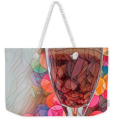 Weekender Tote Bag featuring the photograph Trifle Remix by Dan McManus