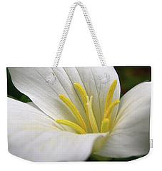 Trillium Grandiflorum Weekender Tote Bag