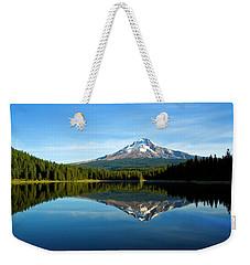 Trillium Lake Mt Hood Fall Weekender Tote Bag