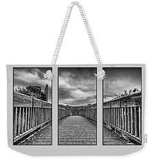 Trim Triptych 3 Weekender Tote Bag