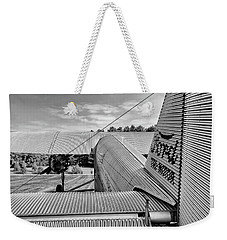 Trimotor Tail View - 2017 Christopher Buff, Www.aviationbuff.com Weekender Tote Bag