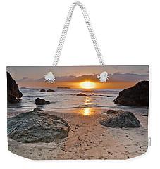 Trinidad State Beach Sunset Weekender Tote Bag