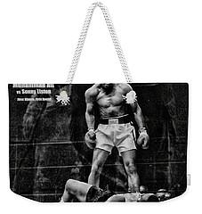 Trinity Boxing Gym Ali Vs Liston  Weekender Tote Bag