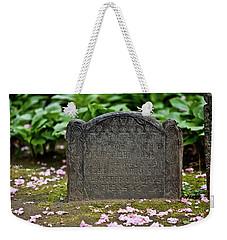 Trinity Church Tombstone Weekender Tote Bag