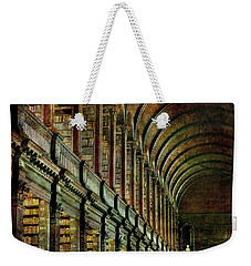 Trinity College Library Weekender Tote Bag