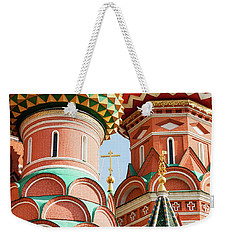 Weekender Tote Bag featuring the photograph Trinity On The Moat by Geoff Smith